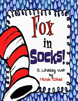 Read Across America - Fox in Socks Literary Activity