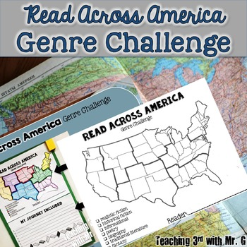 Read Across America Genre Reading Challenge Freebie