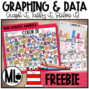Read Across America Graphing and Data -FOREVER FREEBIE
