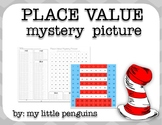 Read Across America (Hat) Mystery Place Value Picture