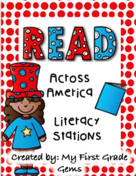 Read Across America Literacy Stations Freebie!