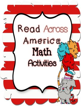 Read Across America Math Activites