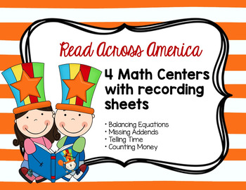 Read Across America Math Centers