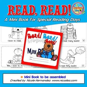 Read Read Everybody Read Mini Book