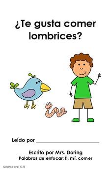 Read Across America Minibooks SPANISH {Leveled Readers}