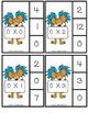 Read Across America Multiplication Clip It Card