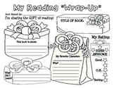 """Christmas / Holiday """"My Reading Wrap-up"""" Book Report / Rea"""