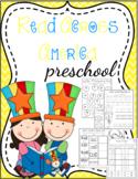 Read Across America Preschool Printables