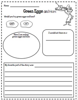 Read Across America Printables and Center FREEBIE