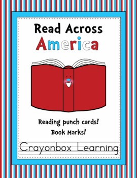 Read Across America - Punch Cards & Book Marks - Freebie