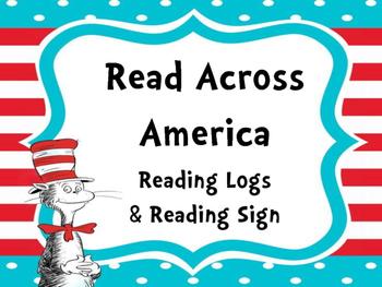 Read Across America Reading Logs