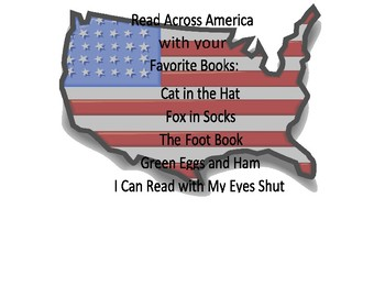 Read Across America Response Pages for Favorite Books