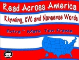 Read Across America Rhyming, cvc, and nonsense words.  Bonus Math Ten Frames