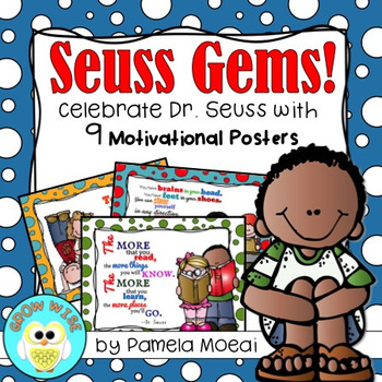 Read Across America! Seuss Gems: Posters!
