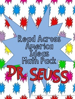 Read Across America Seuss Inspired Complete Math Packet