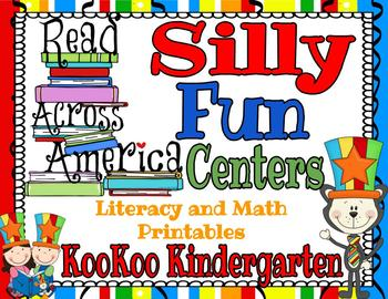 Read Across America Silly Fun Centers