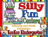 Read Across America Silly Fun Centers