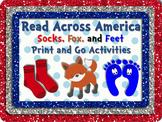 Socks, Fox & Feet Literacy & Math DISTANCE LEARNING! Read