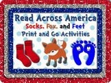 Socks, Fox & Feet Literacy & Math Fun Pack PLUS Bookmarks!