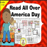 Read All Over America Speech Therapy Printable Pack