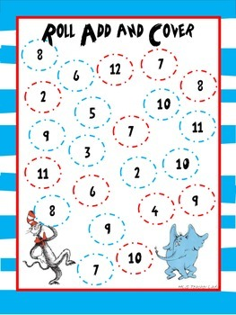Read Across America Themed Roll, Add & Cover