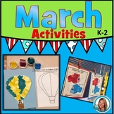 Read Across America Week Activities, March Madness Activities, Centers and Ideas