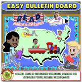 Read Across American Bulletin Board Kit
