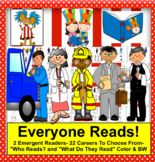 Labor Day Community Helpers: Mini Books Kindergarten - First Grade