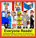 Everyone Reads!  Labor Day Community Helpers: Mini Books Kindergarten