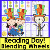 Read WORDS Across America Day Blending Build A Word Wheels