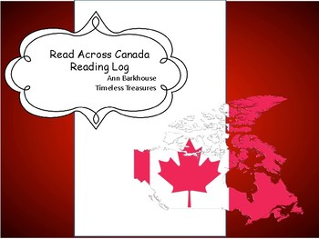 Read Across Canada Reading Log