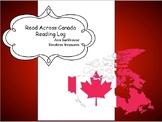 Read Across Canada Reading Log