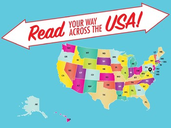 Read Across the USA classroom poster