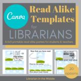 Read Alike Editable and Printable TEMPLATES for CANVA