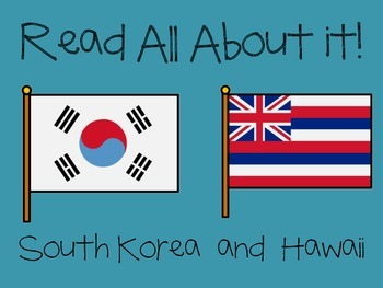 Read All About it: Hawaii and South Korea