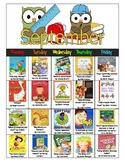 Read Aloud-A-Day Calendar Lesson Plan