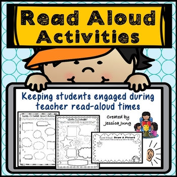 Read-Aloud Activities (for any novel or story!)