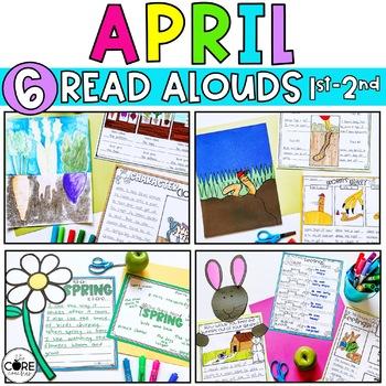 Read-Aloud Activities: April Bundle for Grades 1-2