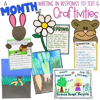 April Interactive Read-Alouds   Distance Learning   for Google Slides or Seesaw