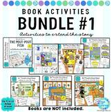 Read Aloud Book Activities BUNDLE #1