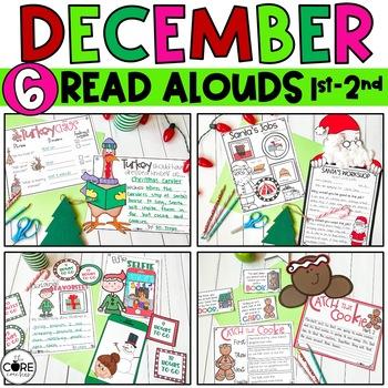Read-Aloud Activities: December Bundle for Grades 1-2