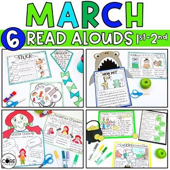 Read-Aloud Activities: March Bundle for Grades 1-2