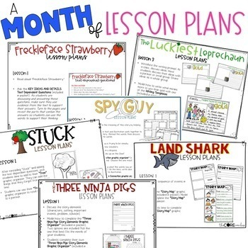 March 1-2 Bundle: Interactive Read-Aloud Lesson Plans Curriculum