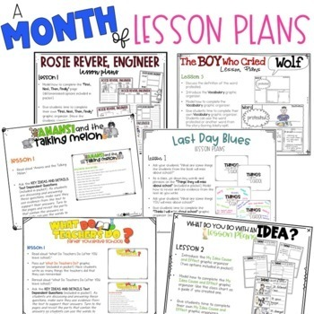 May 1-2 End of Year Bundle: Interactive Read-Aloud Lesson Plans Curriculum