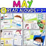 Digital May Read-Aloud Bundle   End of School   Distance Learning