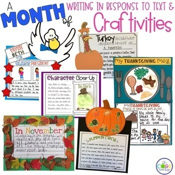 November 1-2 Bundle: Interactive Read-Aloud Lesson Plans Monthly Curriculum