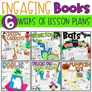 October Read-Aloud Bundle: Interactive Lesson Plans Curriculum
