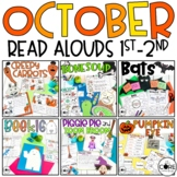 October 1-2 Bundle: Interactive Read-Aloud Lesson Plans Monthly Curriculum
