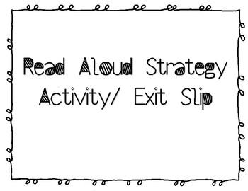 Read Aloud Activity