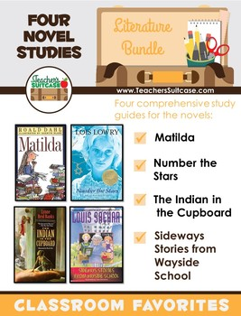 Sideways Stories from Wayside School, Matilda, Number the Stars, & More